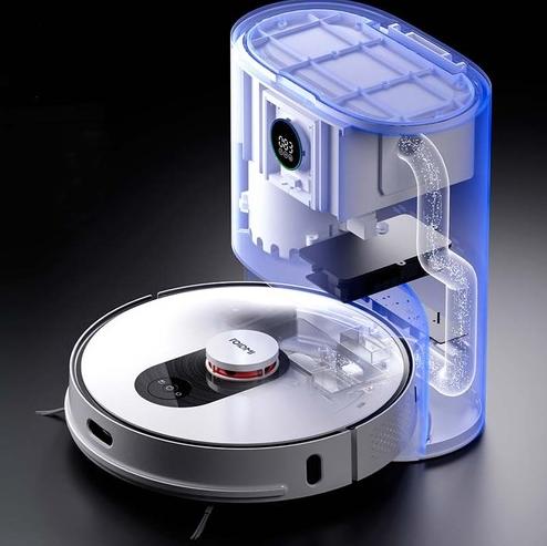 - ROIDMI EVE Plus שואב רובוטי שוטף עם עמדת ריקון עצמי - יבואן רשמי (2)